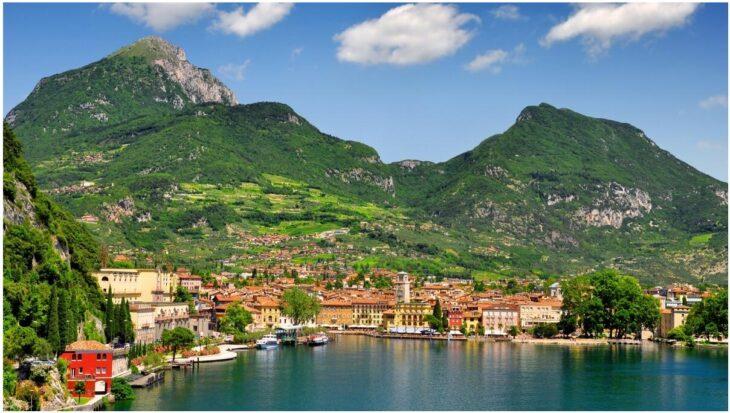 Riva del Garda on Lake Garda