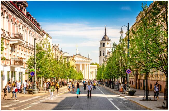 Vilnius is a nearby cultural destination