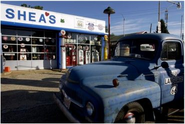 Shea's Gas Station Museum in Springfield, Illinois