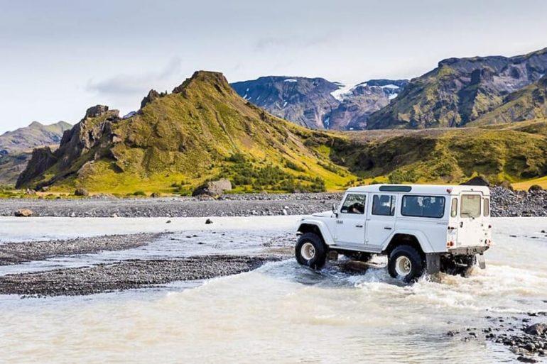 Icelandic Highlands in 4WD