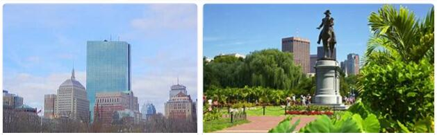 Boston - The Affluent City on The East Coast of The USA